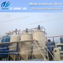 Used engine oil to diesel,waste oil to diesel plant
