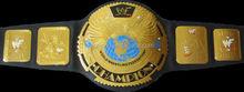 New style Golden Wrestling belt