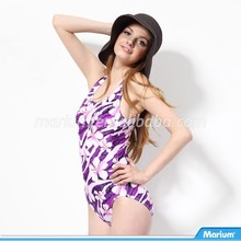 Beautiful Sexy Design Triangle One Piece Girls Swimwear