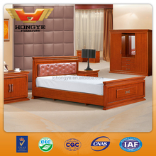 2015 New Product Wooden Bed HY-A307