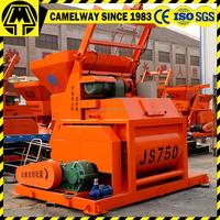 750 liter manual cement self loading concrete mixer in dubai
