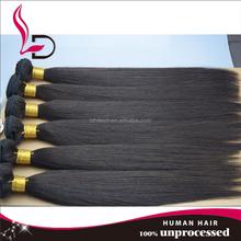 2015 Alibaba super quality no chemical processed blossom bundles virgin hair silky straight unprocessed virgin brazilian hair