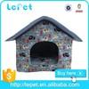 pink princess dog house/house fabric dog/indoor dog house bed