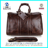 2015 China Factory Leather Travel Duffel Bag Men