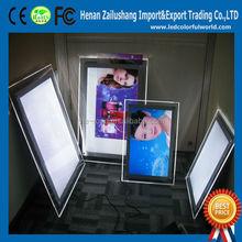 Energy-saving Frameless Led Crystal Light Box,Custom Light Frame
