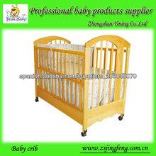 Cuna de madera, bebé cama, cuna para bebés