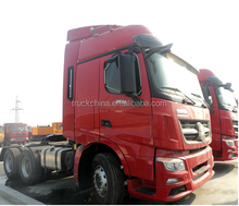 Beiben heavy duty truck tractor truck used for tow trailer for sale