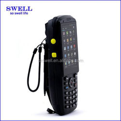 newest QR code scanner dual core 3g/2g calling rugged phone 3.5inch andrid4.4 waterproof mobile scanner NFC RFID M3500