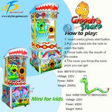 2015 new mini arcade lottery machine Greedy snake for sale