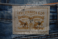 jeans leather patch beanies label+Leatherette Paper+Silk Screen Print+Antique Finish