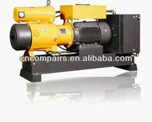 Rotary sliding vane air compressor