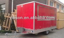 Yieson Best Selling Mobile Food Vans burger kiosk YS-FV350E