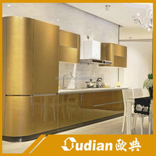 OEM/ODM modular kitchen design for lacquer kitchen cabinet