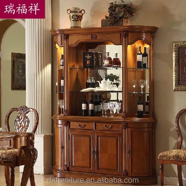Wooden Flooring Liquor Cabinet,Display Cabinet,Living Room Cabinet Z219  Bu -> Armoire De Salon