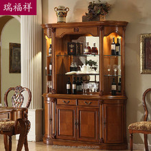 Wooden flooring liquor cabinet, display cabinet, living room cabinet Z-219