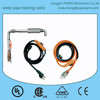 USA Water pipe heating cable with temperature thermostat