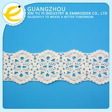 Free sample wholesale fashion jacquard elastic lace trimming
