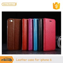 Leather Phone Case For Apple iPhone 6 Cover wallet high quality best price hot new products 2015