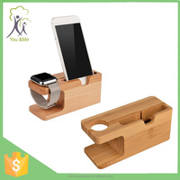 Bamboo Stander Holder For Iphone/app Watch New Arrival