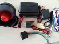 1 way car alarm flip key vision car alarm system with siren