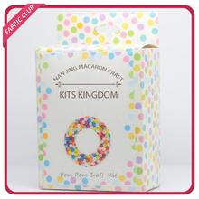Girl's Baby Shower Room Decorating Kit Pink Pom Poms Garland