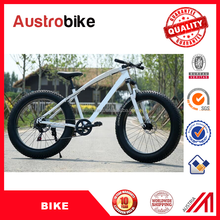 Steel Frame Fat tire snow bike,Steel 26 fat tire bike for adult with 7 speed 21 speed 27 speed
