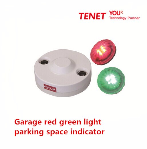 חיישן קולי עבור מערכת חיווי מקום חניה מוסך אור ירוק אדום