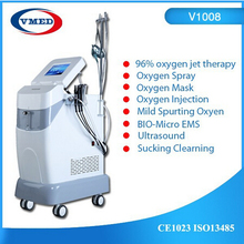 Oxygen spray beauty machine oxygen breathe device facial spa machine