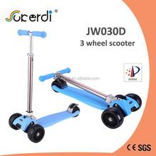 new model mini maxi kids pedal kick 3 big wheel wholesale aluminum foldable scooter