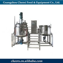 New Condition Cosmetic Vacuum Emulsifying Mixer / Vacuum Homogenizer Mixer