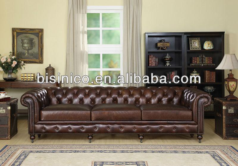 American style wohnzimmer sofa, leder wohnzimmer funiture ...