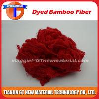 various color of bamboo viscose fiber, lower bamboo fiber price