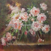 imágenes de flores pintadas aceite