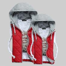 Breathable And Comfortable Good Shape Best Selling Padding men Hooded mens biker vest