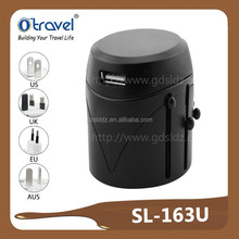 world convert electrical socket adapter international adapter with one usb port