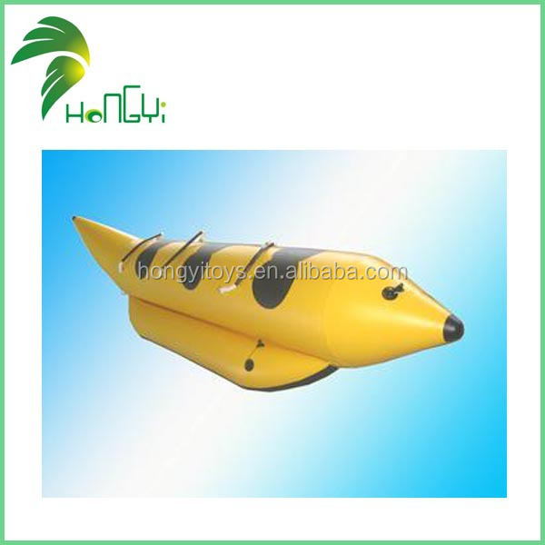 Enjoy Good Reputation Hongyi Brand Inflatable Water Banana Boat.jpg