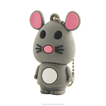 3D cute animal shape usb flash drive