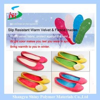 latex foam cotton medical function foot care shoe insole