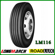 11r22.5 longmarch roadlux all steer truck tyre for Vietnam made in china