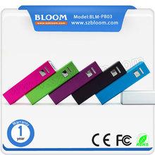 BLM-PB03 2600mah High Quality Mini Partable slim power bank for mobile