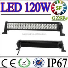 Best quality 120W car led light bar, truck light bar 10V~30V