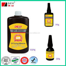 Clear UV adhesive for glass uv glue