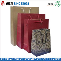 2015 Wholesale Shopping Paper Bag with Customized Style