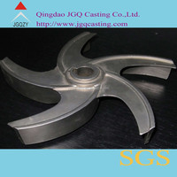 casting stainless steel pump impeller