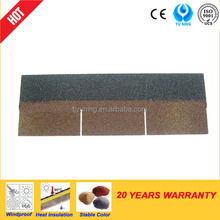 3-tab fibreglass asphalt shingle