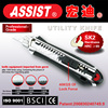 Hot sale in Europe America best quality Alloy case safety model 27G-L5 multi-use automatic utility knife