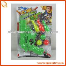 Arma suave ping pong ping-pong de la pistola con bola de bolos SP9624138N