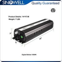 On Sale 5% off 1000w Hydroponics Dimmable Electronic Ballast
