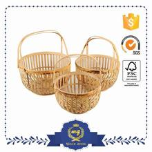 Nice Design Classic Style Laundry Bamboo Basket