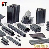 Rubber Extrusion with Metal Insert